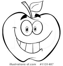 apple clipart black and white. pin apple clipart b w #3 black and white p