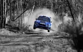 rally car jump wallpaper