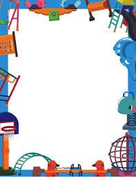 Preschool Page Borders Daycare Border