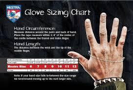 Hestra Junior Glove Size Chart