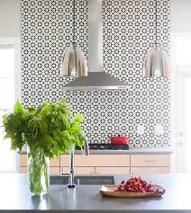 black and white atlas cement kitchen wall tiles