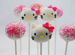 Hello Kitty Cake Pops Party At Chicago Suburbs Chicago Cake Pops