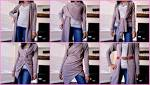 Dkny cozy wrap how to wear