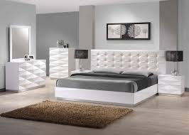 white headboard bedroom ideas. Exellent White Long White Headboard With Tufted Style Matched Minimalist Bed  Frame And Bedroom Ideas O
