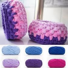 2019 woolen yarn diy knitting wool for rugs woven thread cotton cloth yarn hand crocheted basket rug blanket fancy yarn fabric from huhu930 6 04 dhgate