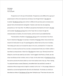 humanities i compared the different perspectives in the two stories based on characterization the role of women and the role of fate a copy of this essay is below