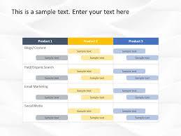 Sample Marketing Plan Powerpoint Digital Marketing Plan Powerpoint Template Marketing Plan