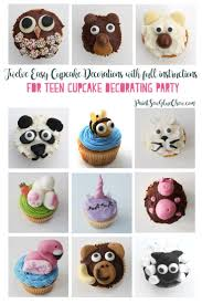 Teen Cupcake Decorating Party Full Instructions Paintsewgluechew