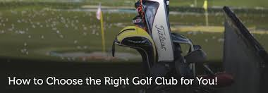 How To Choose The Right Golf Club For You Golf Drives