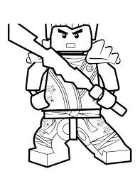 Movie Lego Ninjago Coloring Pages Sketch Get Coloring Page