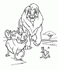 Lion King Coloring Page Baby K S Nursery Pinterest Coloriage