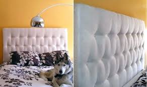 medium size of white tufted headboard how to make a using pegboard projects diy easy no
