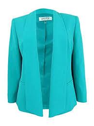 Kasper Womens Plus Size Shawl Collar Blazer At Amazon