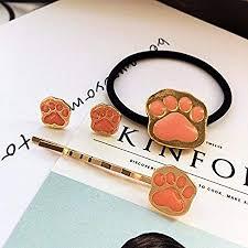 Japanese foreign trade jewelry super <b>Meng</b> cute <b>pet</b> cat <b>paw print</b> ...