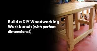 build a diy woodworking workbench with
