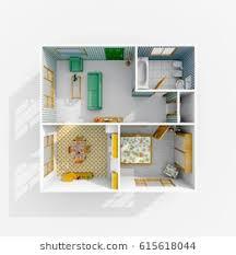 3d House Plans Images, Stock Photos & Vectors | Shutterstock