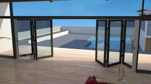 retractable fly screens for double bifold doors awesome animation you