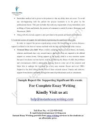 supporting significant life events sample by instant essay writing 9