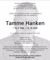 Verstorbener Tierflüsterer Rührende Traueranzeige Für Tamme Hanken