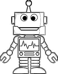 robot coloring pages 48 with robot coloring pages coloring book robot