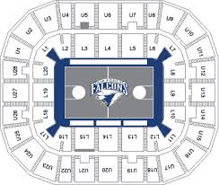 Usafa Stadium Seating Chart Seating In Clune Arena Air Force Sports Seating Charts