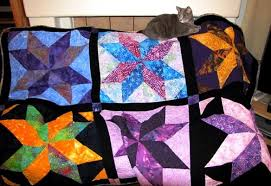 The Quilting Kitty - Big Star Quilt Blocks - Big Star Quilt Blocks & You can find the pattern for the Big Star Blocks at this YouTube link to  the Missouri Quilt Company:  http://www.youtube.com/watch?v=Tkm3nCferp4&list= ... Adamdwight.com
