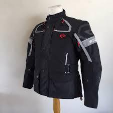 jaket motor jaket touring contin osiris black le