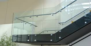 srs railing systems installation image gallery of c r laurence taper loc reg dry glaze glass railing systems