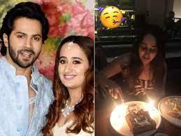 Varun Dhawan is celebrating girlfriend ...