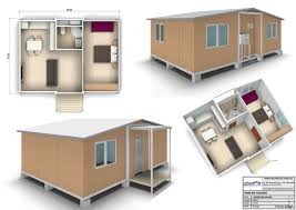 architecture luxury 1 bedroom prefab