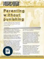 argumentative essay final draft corporal punishment in the home  anti corporal punishment of children