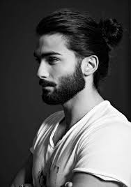 Mittellange Haare Frisuren Männer Stylen Sexy Männer Dutt Haar