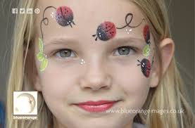 blue orange images face painters in watford bright erfly