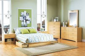 corner bedroom furniture. Affordable Bedroom Furniture Set Featured Flat Low Profile Bed Frame And Tall Corner Chest Of Drawer Plus Rectangular Fluffy Rug I