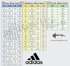 Adipower Size Chart Adidas Shoe Size Chart Uk Www Bedowntowndaytona Com