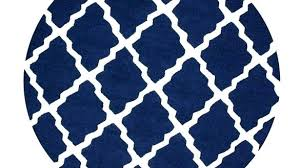 navy blue rugs home interior immediately navy blue round rug trellis 8 ft x area navy blue bath