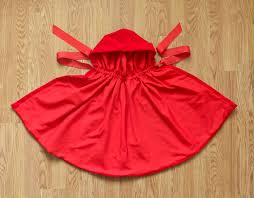Childs Cape Pattern Magnificent Little Red Riding Hood Cape Pattern Bright Apple Blossom