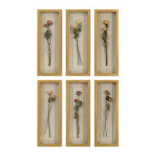 uttermost rosalie long stem shadow box 13 inch x 8 inch framed wall art on wall art set of 6 with buy set of 6 wall art from bed bath beyond
