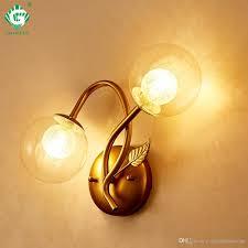 European Style Wall Lamps Bedroom G9 E27 Bulb 110v 220v Room Loft Hotel Sconce Hallway Home Interior Wall Light Swing Arm Brass