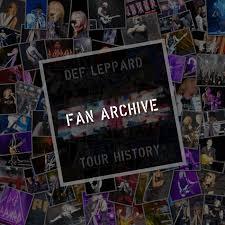 <b>Def Leppard</b> Tour History Fan Archive (<b>Def Leppard</b> Setlists/Tours ...