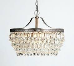 pottery barn clarissa chandelier crystal drop round chandelier pottery barn clarissa chandelier flush mount
