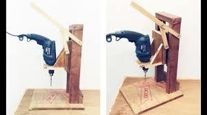 make a homemade drill press stand diy homemade drill press