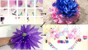 birthday decoration ideas at home with balloons