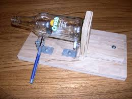 simple and bottle cutter to make cool drinking glasses