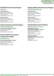 Tricare Dental Urance Plans Program Benefit Booklet