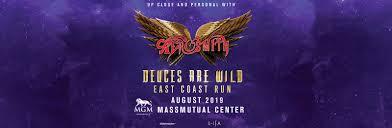 Mgm Presents Aerosmith Deuces Are Wild East Coast Run