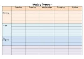 Teacher Weekly Planners Weekly Planner To Do List And Teacher Notes By Sunshine And Teaching