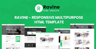 Business Website Templates Interesting Ravine Multipurpose Responsive HTML Template By Aclthemes