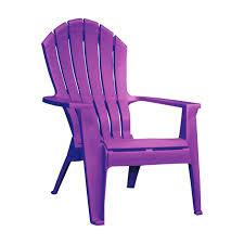 purple plastic adirondack chairs. Adams RealComfort Violet 250 Lb. Chair(8371-12-3900) Purple Plastic Adirondack Chairs I