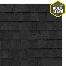 black architectural shingles. Wonderful Shingles Owens Corning Oakridge 328 Sq Ft Onyx Black Laminated Architectural Roof  Shingles With A